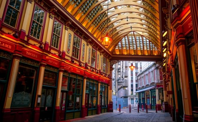 Melhores lojas de Londres